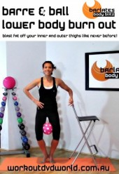 Barre & Ball Lower Body Burn Out DVD