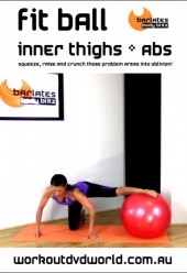 Fit Ball Inner Thighs and Abs DVD