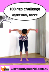 100 Rep Challenge Upper Body Barre