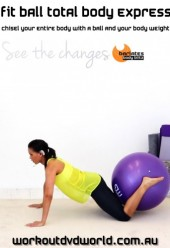 Fit Ball Total Body Express DVD
