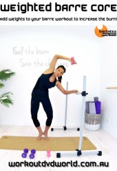 Weighted Barre Core DVD