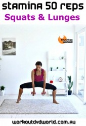 Stamina 50 Reps Squats & Lunges Download