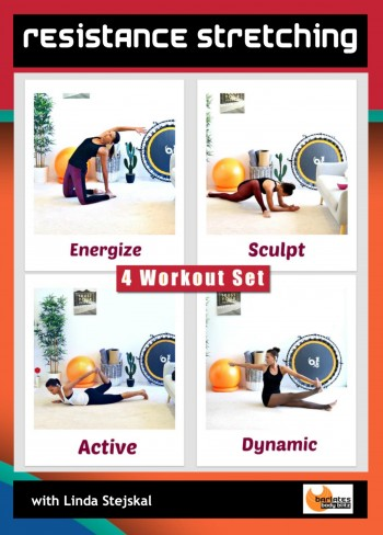 Resistance Stretching Series 4 Workout DVD