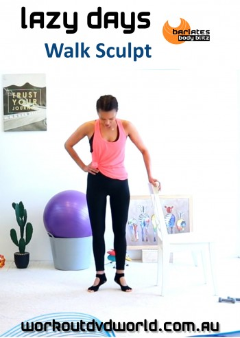 Lazy Days Walk Sculpt DVD