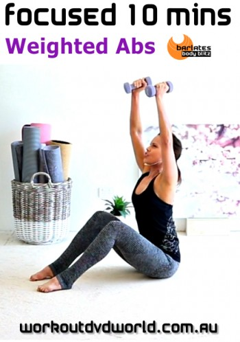 Focused 10 mins Weighted Abs DVD